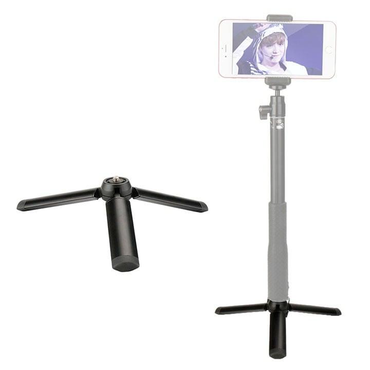 Chân đế mini kiêm tay cầm quay video cho điện thoại