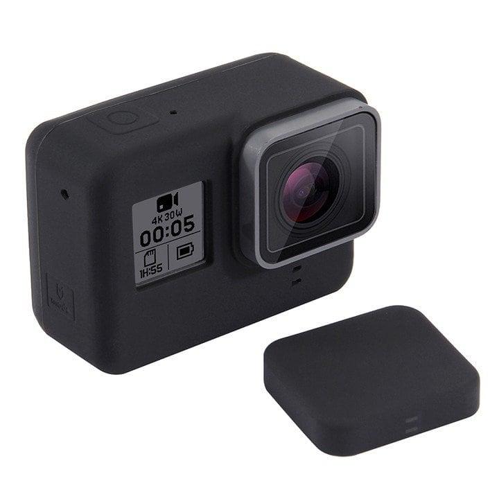 Ốp bảo vệ GoPro 7 / 6 / 5 / New Hero Silicone Puluz chính hãng
