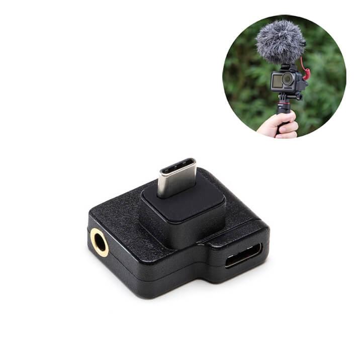 Adapter gắn mic thu âm Osmo Action CYNOVA chính hãng