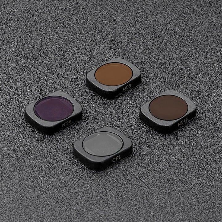 Bộ kính lọc CPL và ND 4 8 16 cho Osmo Pocket Telesin