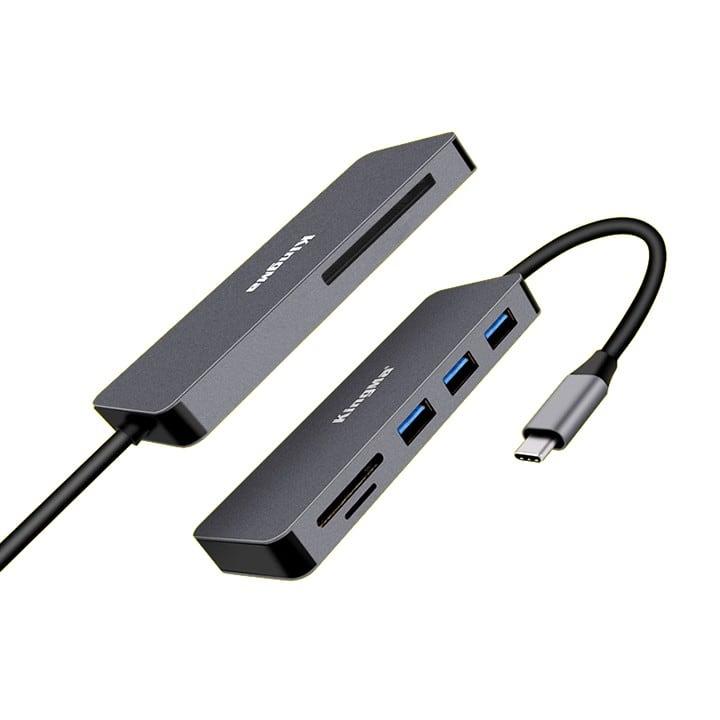 Đầu đọc thẻ Type-C điện thoại và máy tính bảng Kingma