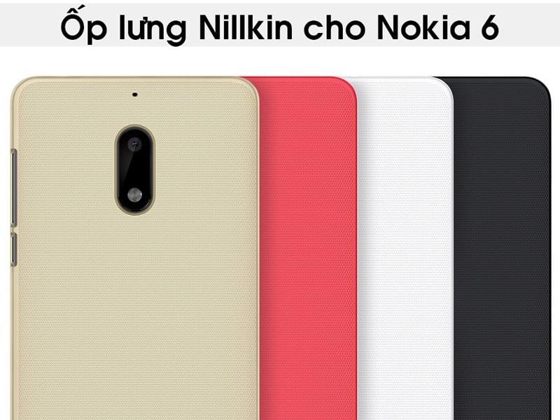 Ốp lưng Nokia 6 Nillkin - Metrophone.vn