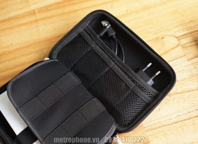 Hộp đựng đồ công nghệ ổ cứng, pin dự phòng - Metrophone.vn