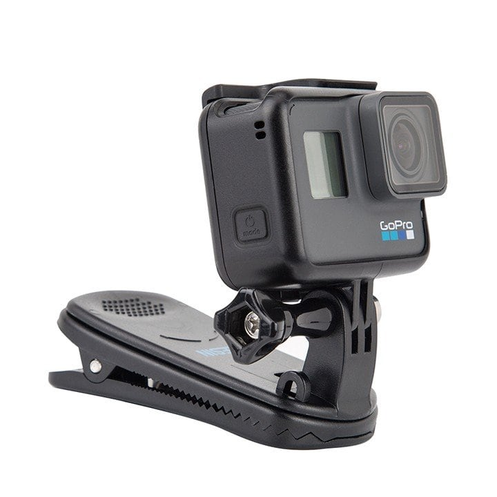 Kẹp dây Balo gắn GoPro 7 / 6 / 5 / Action cam Telesin chính hãng