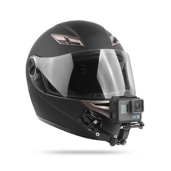 Ngàm dán mũ bảo hiểm gắn GoPro / Action Cam
