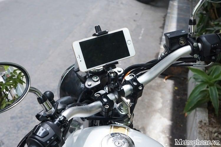 Khung kẹp gắn điện thoại lên chân máy ảnh - Metrophone.vn