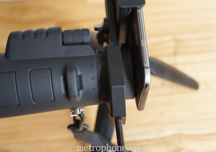 Kẹp gắn ống nhòm đa năng - Metrophone.vn
