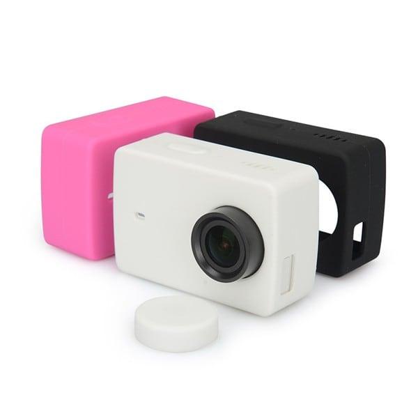 Ốp silicon và nắp bảo vệ cho Camera hành động Xiaomi Yi 2 Kingma