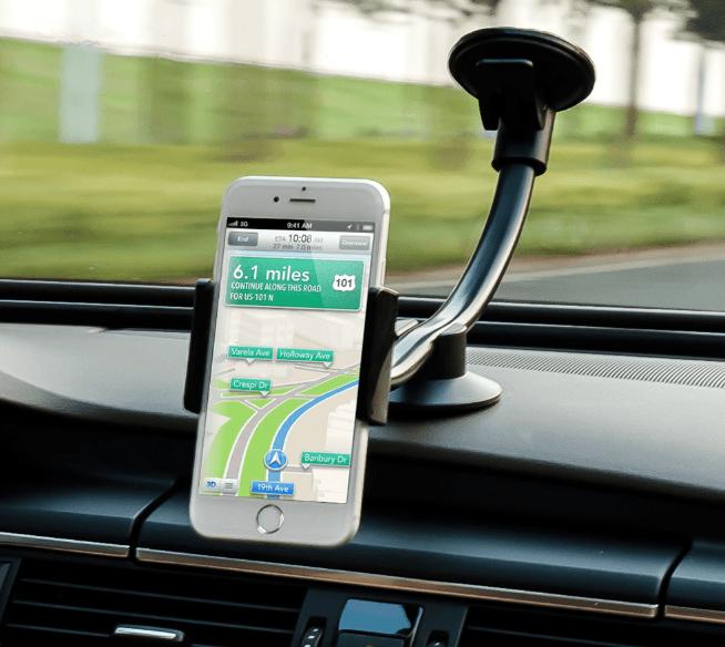 Kẹp điện thoại máy tính bảng trên xe hơi - Metrophone.vn