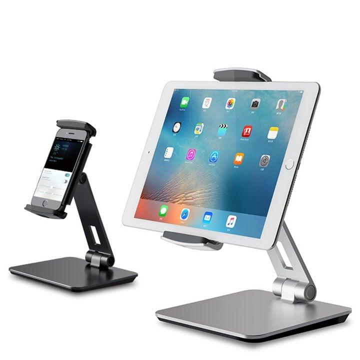 Giá đỡ máy tính bảng và điện thoại xoay 360 độ
