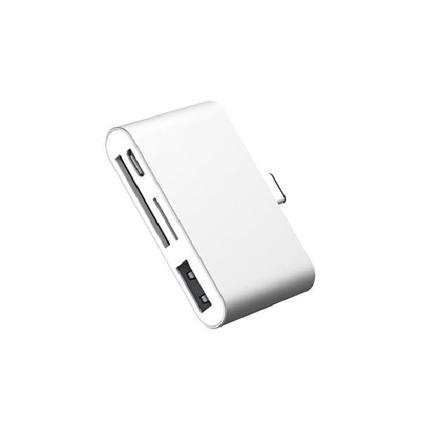 HUB OTG Type-C đa năng hỗ trợ (USB, thẻ SD, TF)