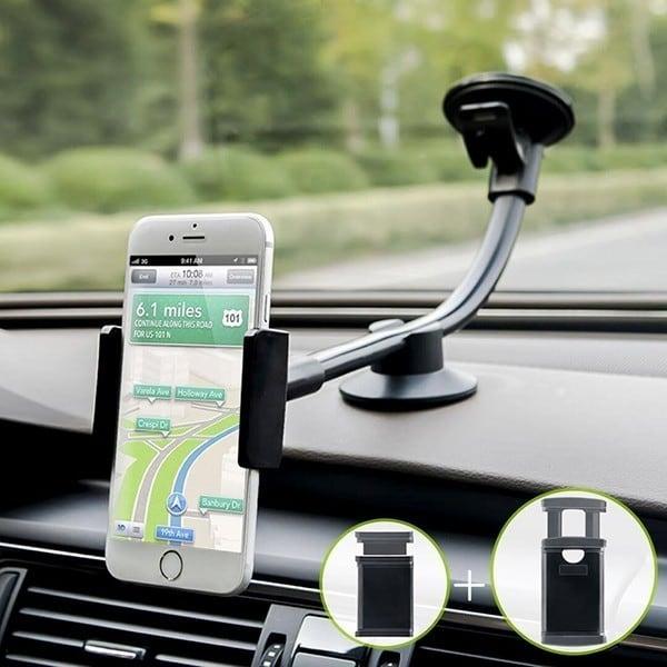 Kẹp điện thoại máy tính bảng trên xe hơi