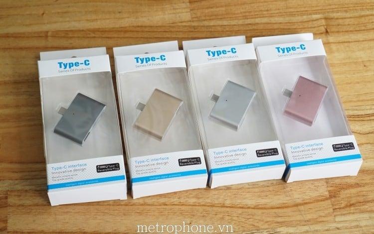 HUB OTG Type-C - Metrophone.vn