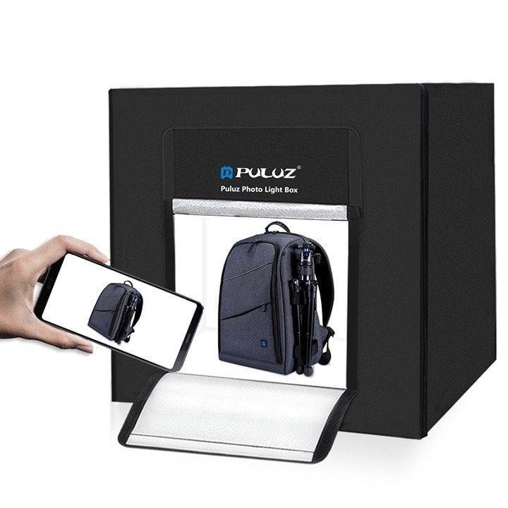 Hộp chụp sản phẩm tích hợp đèn LED chuyên nghiệp 80x80cm Puluz
