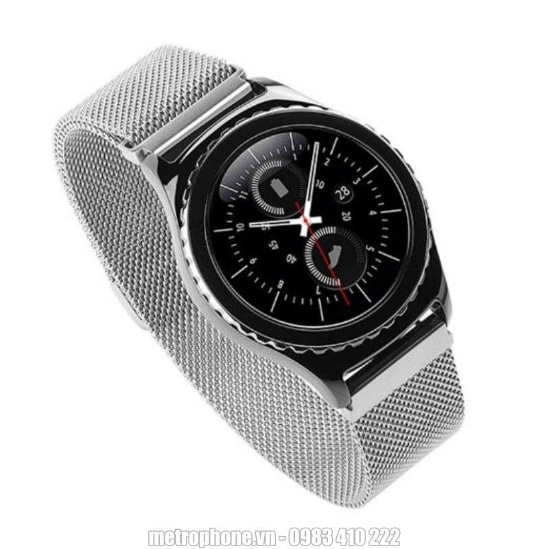 Dây đeo kim loại cho Samsung Gear S2 - Metrophone.vn