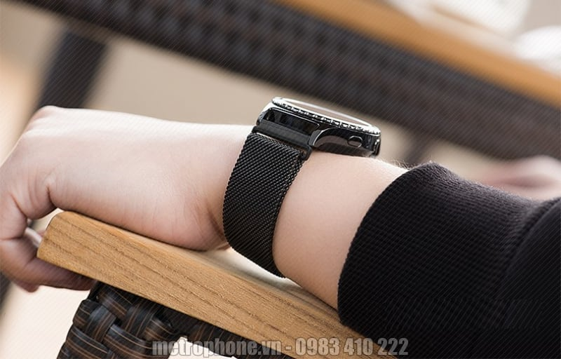 Dây đeo kim loại cho Samsung Gear S2 và S3