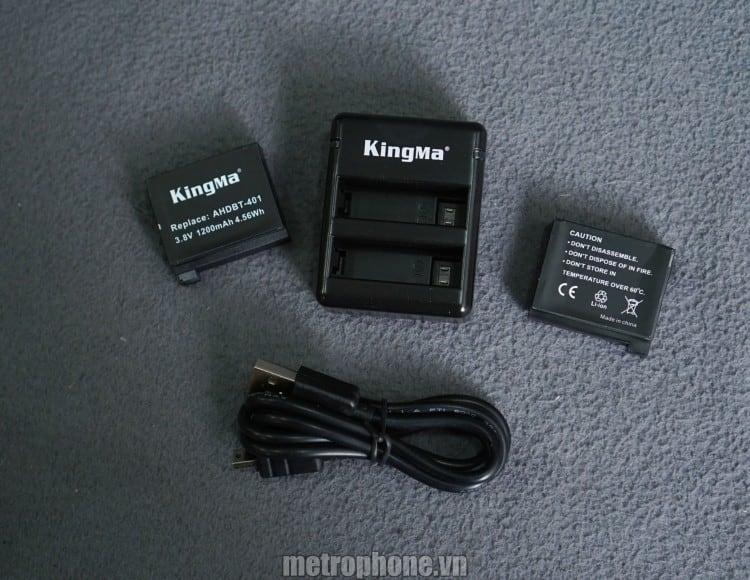 Sạc và pin cho GoPro Hero 4_metrophone.vn