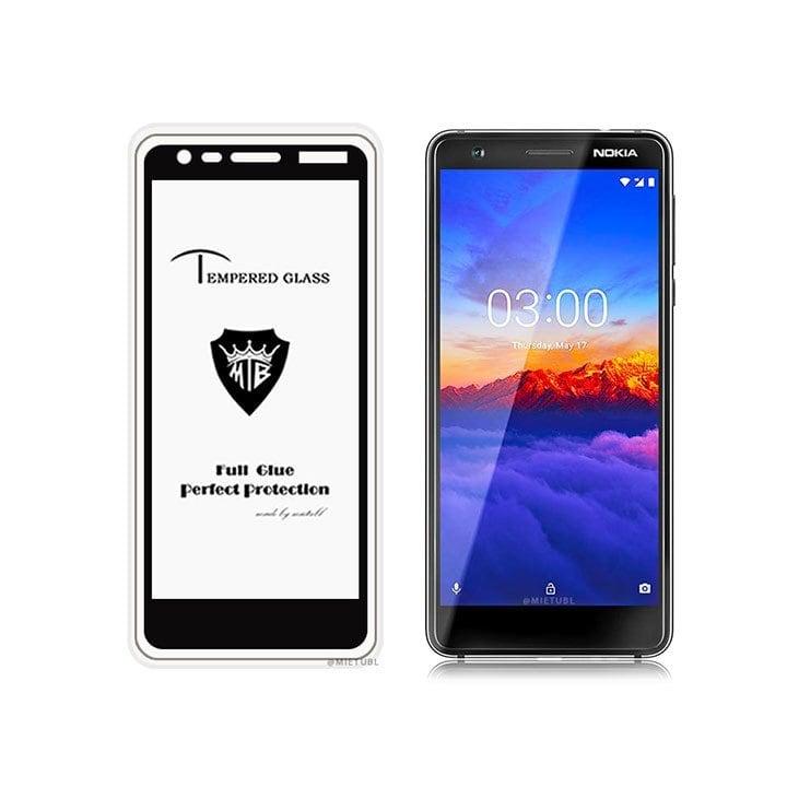 Cường lực Nokia 3 2018 ( 3.1 ) Full keo màn hình