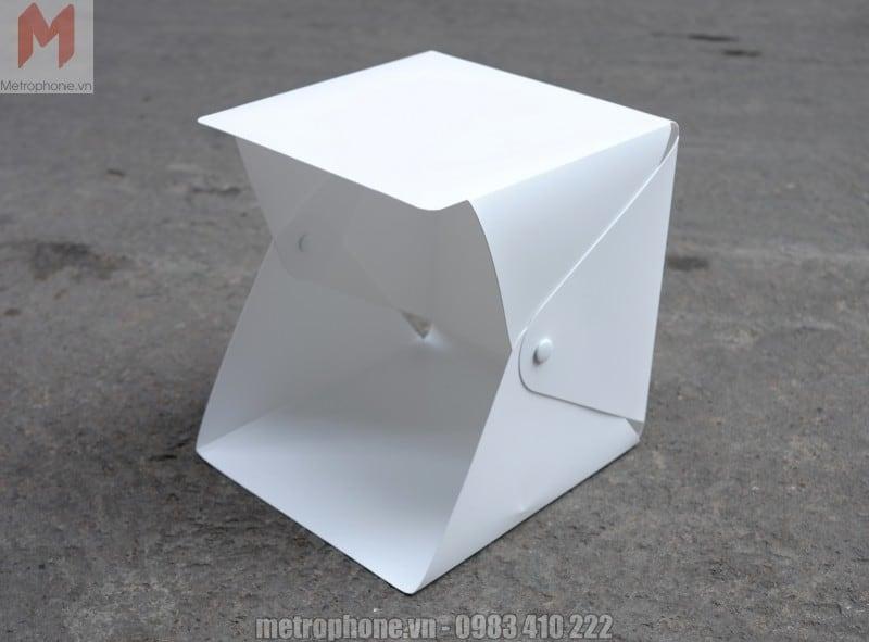 Hộp chụp sản phẩm mini tích hợp đèn LED - Metrophone.vn