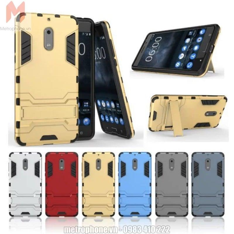 Ốp lưng chống sốc Nokia 6 Iron Man - Metrophone.vn