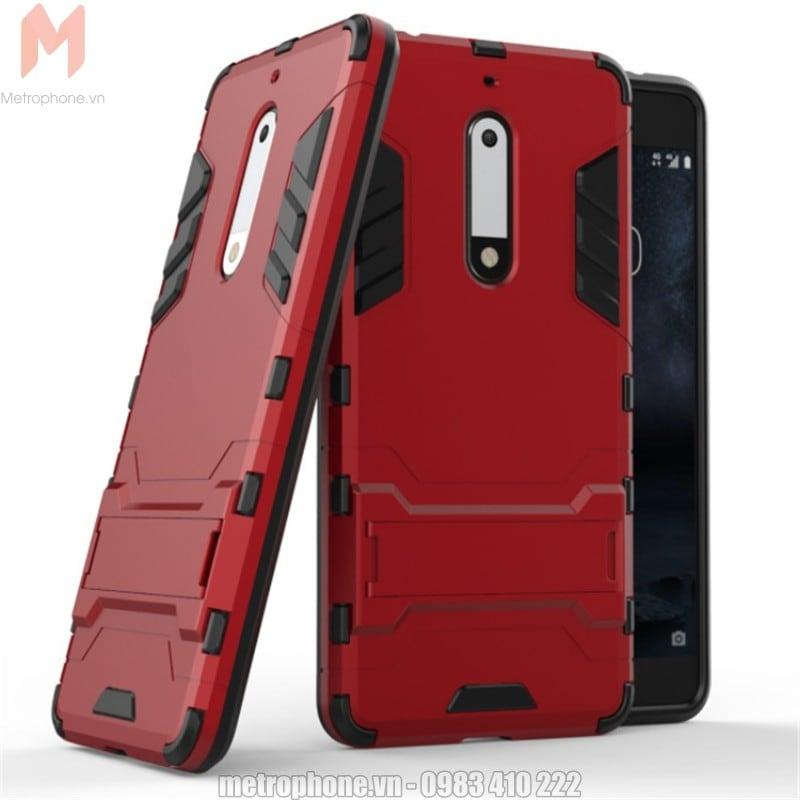 Ốp lưng chống sốc Nokia 5 Iron man - Metrophone.vn