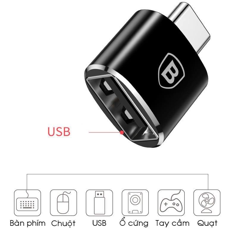 USB OTG đầu Type-C - Metrophone.vn