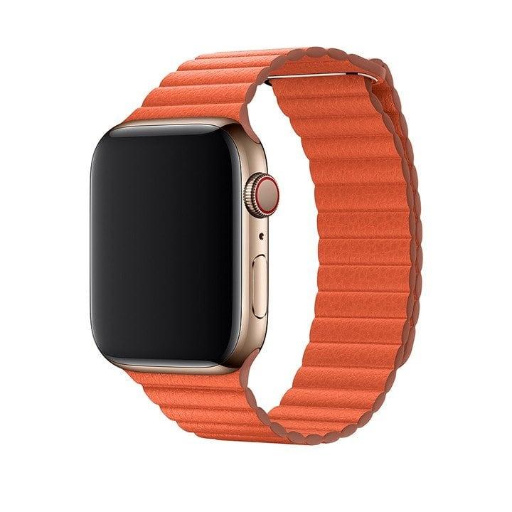 Dây da Apple Watch Leather Loop Series 4 Series 3