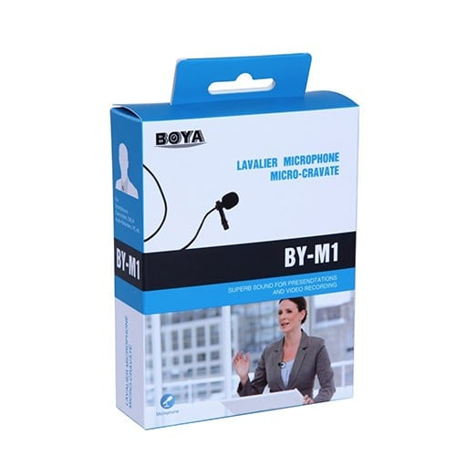 Mic thu âm cho điện thoại và máy ảnh BOYA - Metrophone.vn