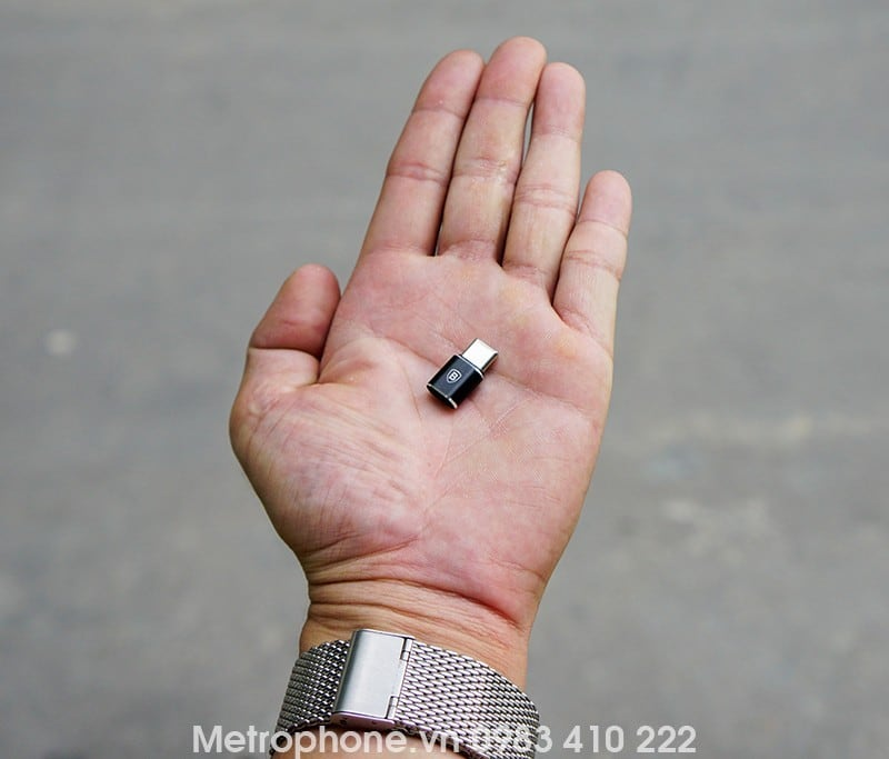 Đầu chuyển Micro USB sang Type C - Metrophone.vn