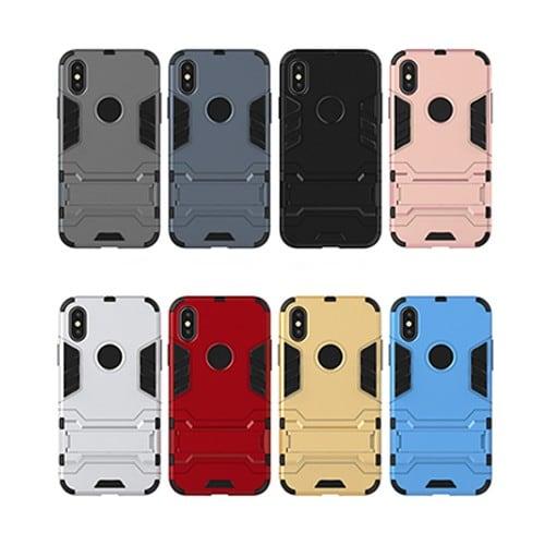 Ốp lưng chống sốc IPhone X / IPhone 10 Iron Man - Metrophone