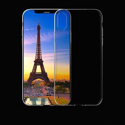 Ốp lưng IPhone X / IPhone 10 trong suốt - Metrophone.vn