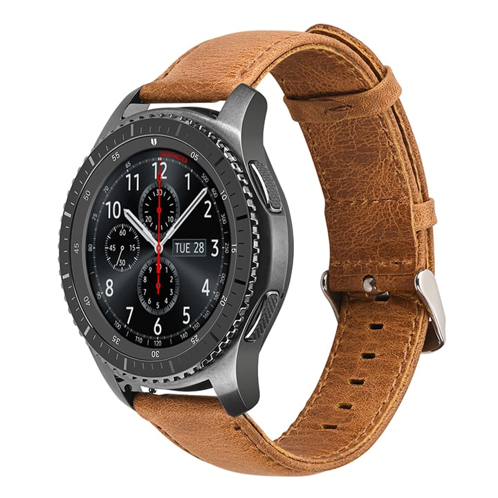 Dây da Gear S3 - Apple watch - Ticwatch HOCO