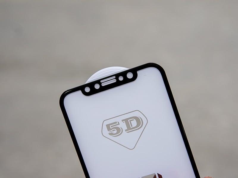 Kính cường lực IPhone X / IPhone 10 5D Full màn hình