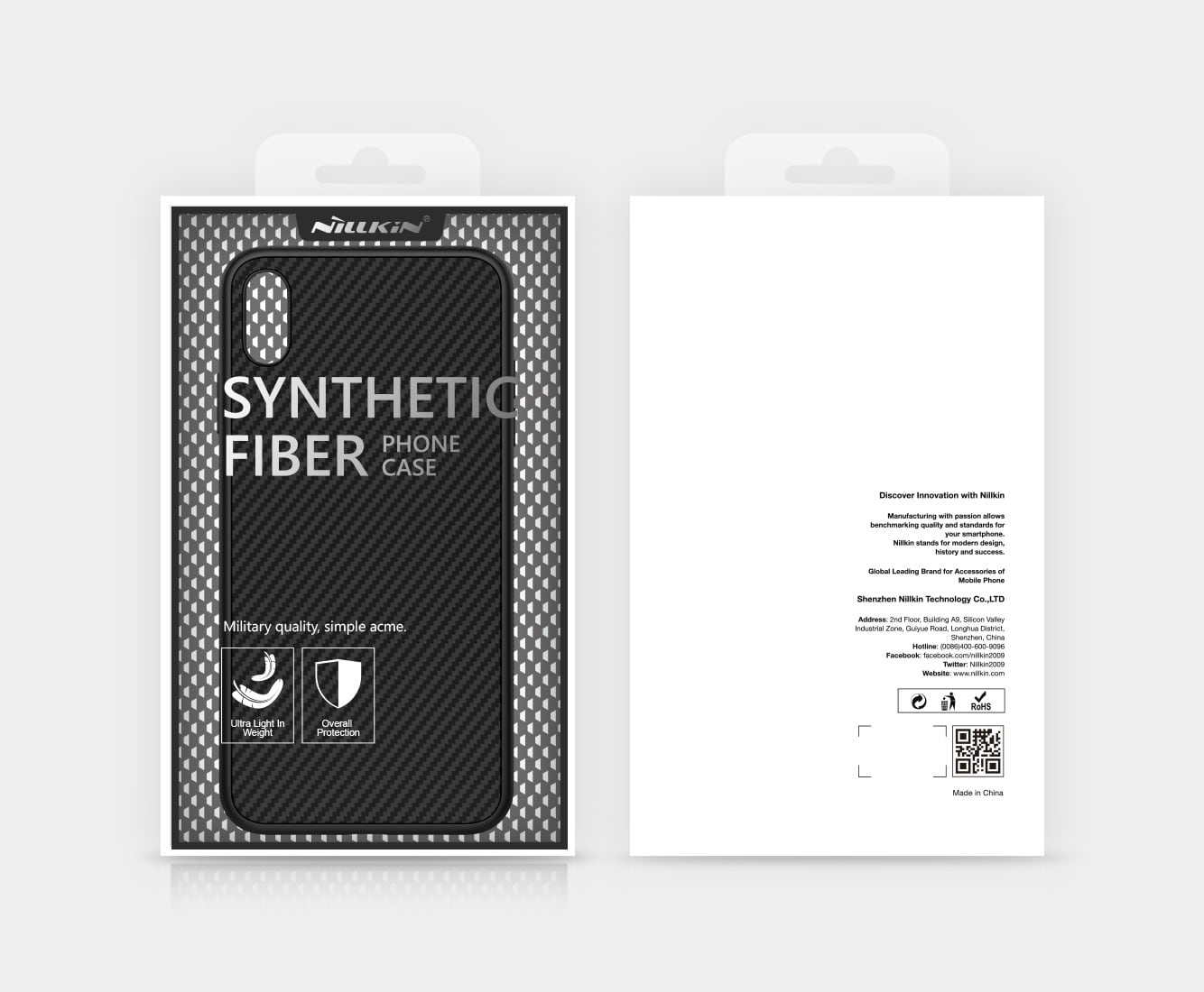 Ốp lưng Nillkin Carbon Fiber iPhone Xs Max chính hãng