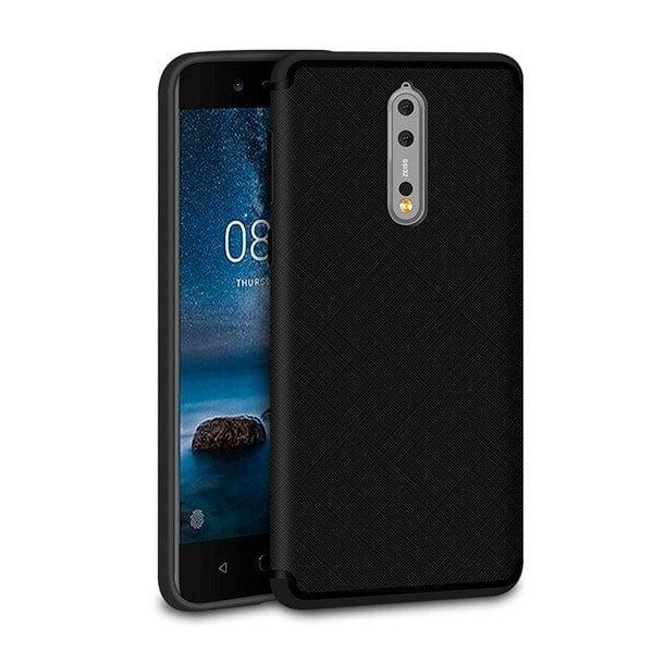 Ốp lưng dẻo Nokia 8 vân chéo