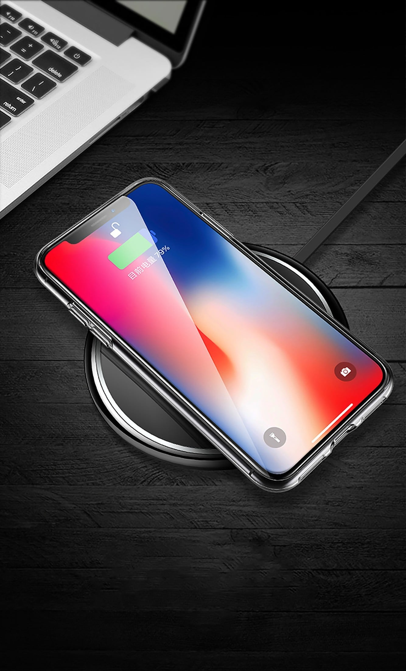 Ốp lưng trong suốt iPhone Xs Max Totu
