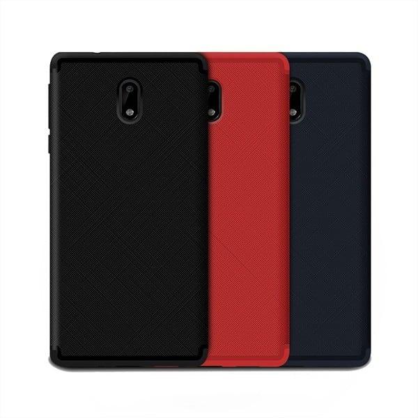 Ốp lưng dẻo Nokia 6 vân chéo