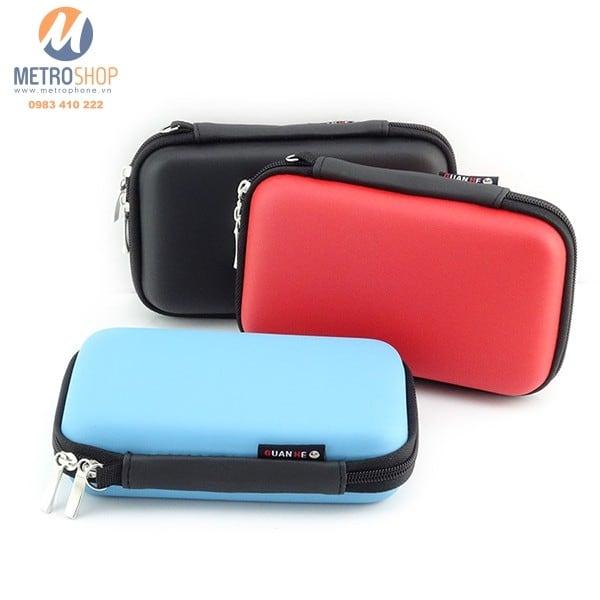 Hộp đựng đồ công nghệ ổ cứng, pin phòng - Metrophone.vn