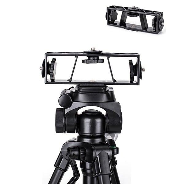 Khung gắn nhiều thiết bị lên chân máy ảnh