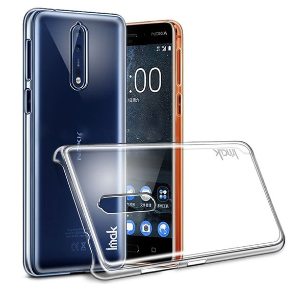 Ốp lưng trong suốt cứng Nokia 8 IMAK