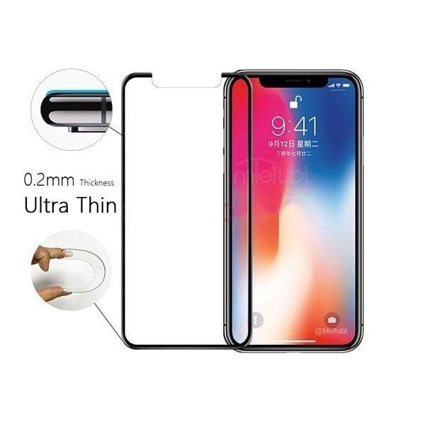 Cường lực iPhone X / iPhone 10 chống bám bụi cảm biến - Metrophone