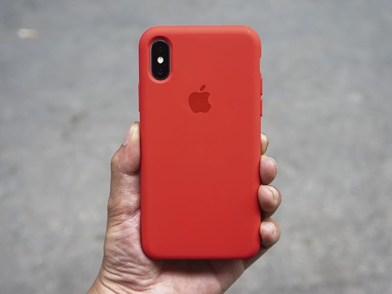 Ốp lưng iPhone X / iPhone 10 Apple Silicone Case
