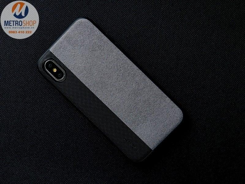 Ốp lưng vải IPhone X / IPhone 10 ROCK