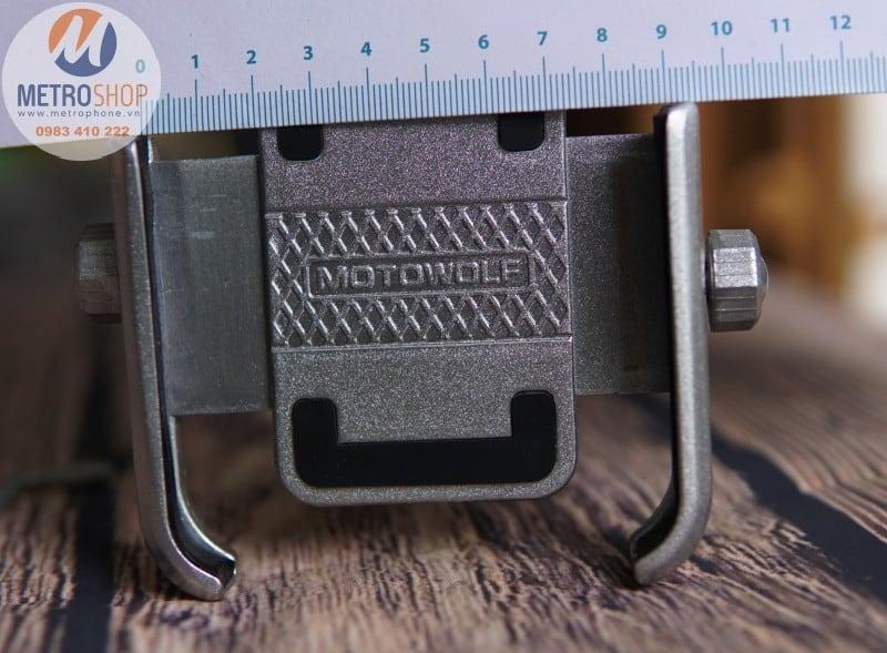 Giá điện thoại gắn chân kính xe máy - Metrophone.vn