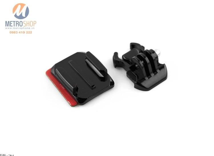 Bộ Mount dán nón GoPro và Action Cam - Metrophone.vn