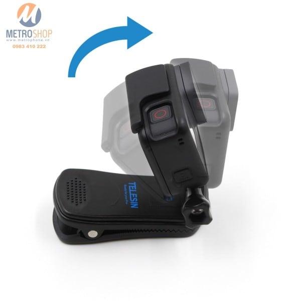 Kẹp dây Balo gắn GoPro 6 Telesin - Metrophone.vn