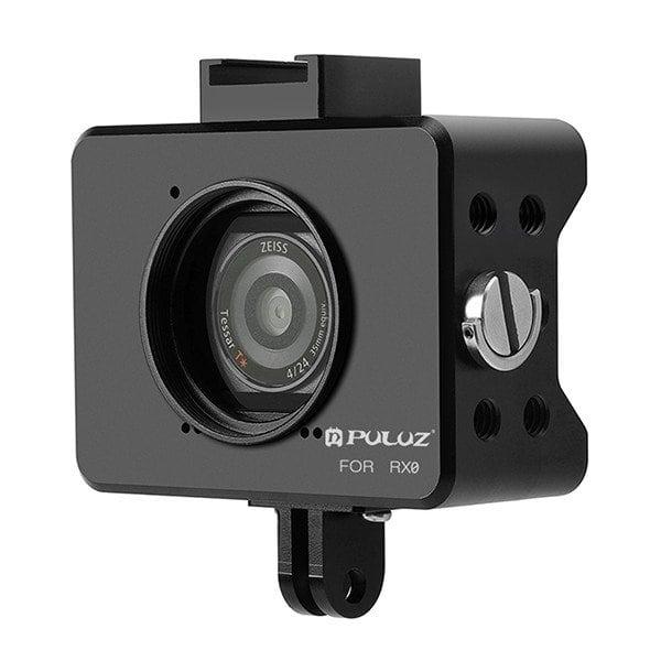Khung viền bảo vệ Sony RX0 hợp kim nhôm kèm Filter 37mm Puluz