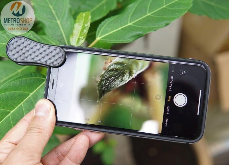 Ống kính góc rộng cho điện thoại LIEQI LQ-046 - Metrophone.vn