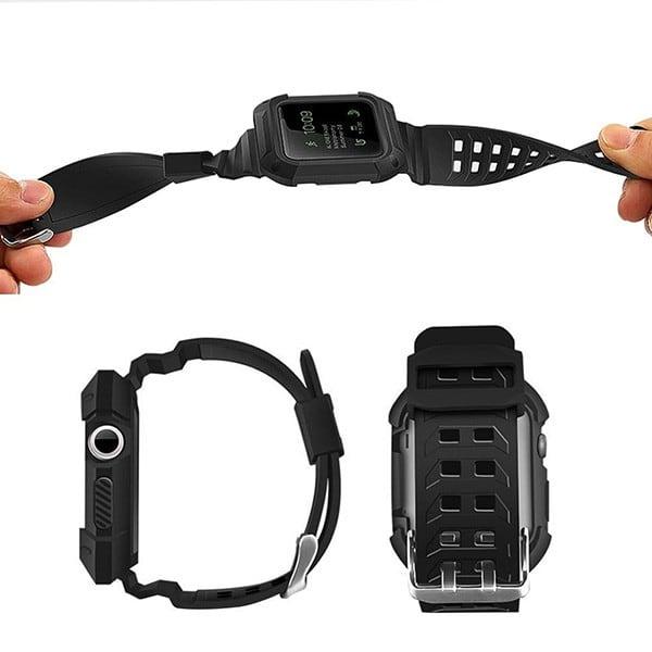 Ốp bảo vệ kiêm dây cho Apple Watch Series 3 / 2 / 1
