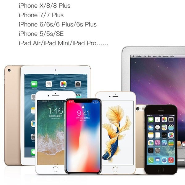 Cáp sạc nhanh iPhone Type-C sang Lightning Baseus